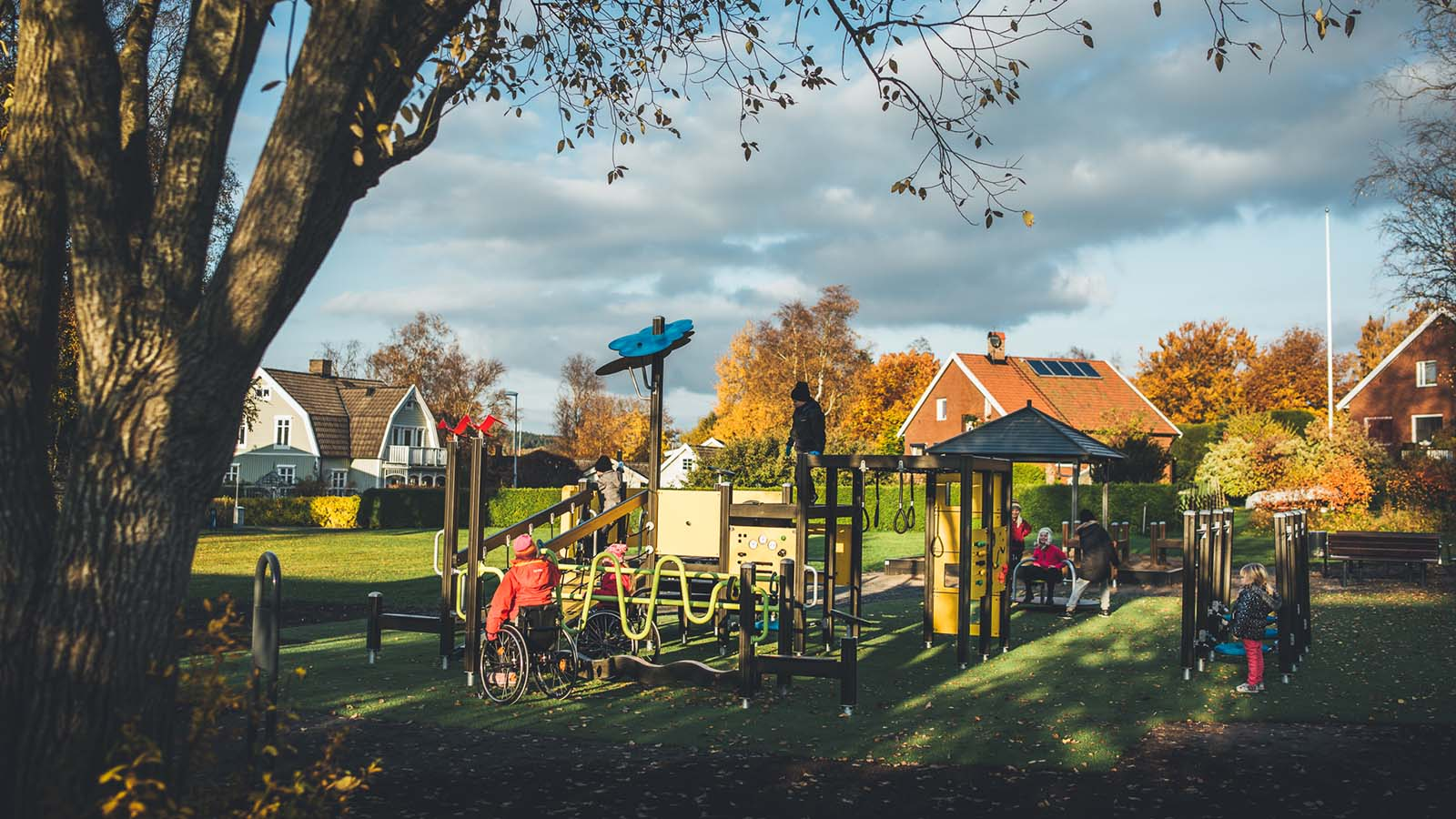 A Public Park That Meets The Diverse Needs Of Users