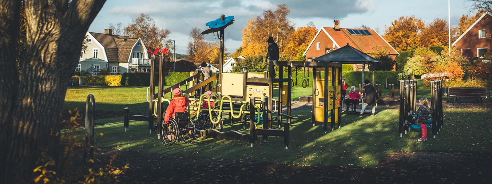 Lappset inclusive design playground