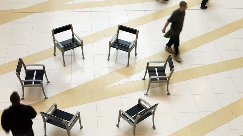 benches for shopping malls