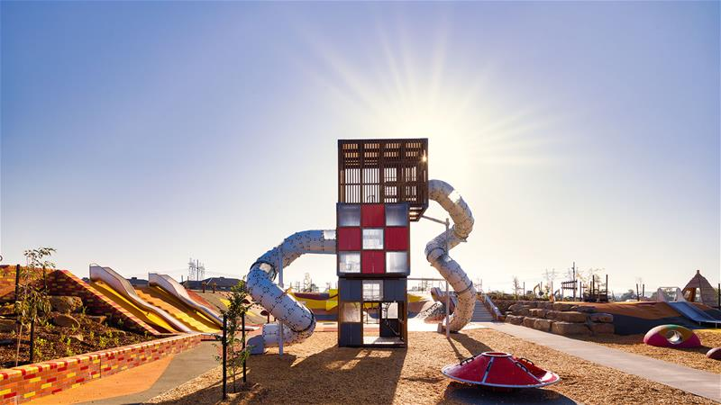 High play tower in Australia by Lappset Group