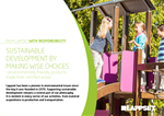 sustainable playground manufacturer lappset