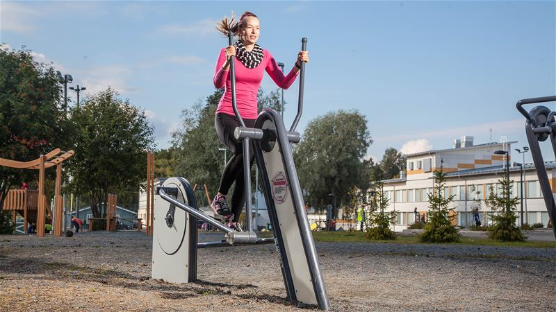 Lappset Outdoor Gym equipment