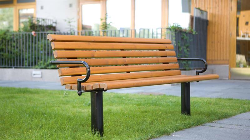 bench for public parks