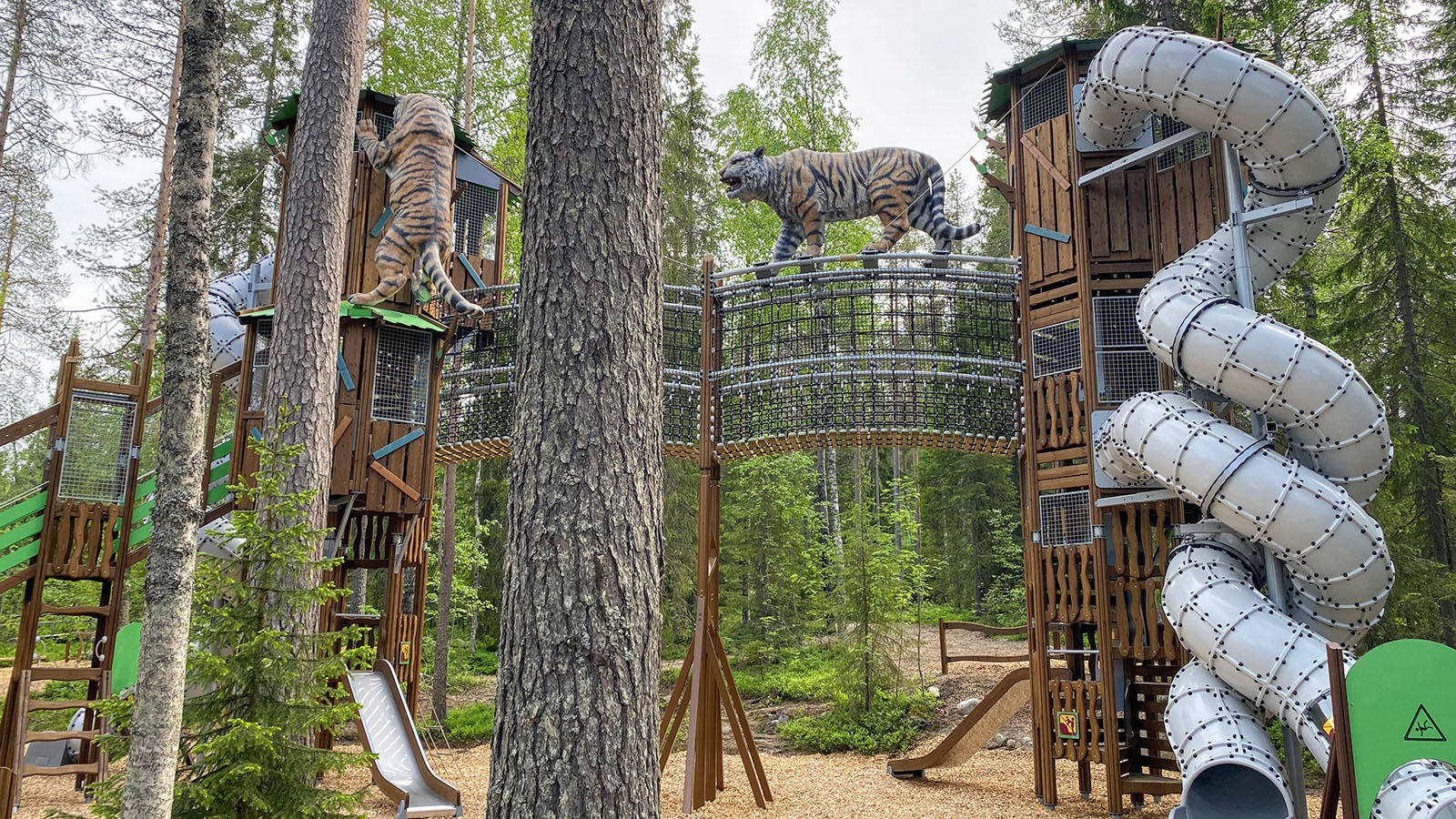 Custom-made playgrounds
