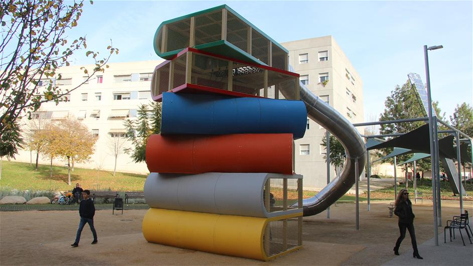 The Books Playground In Cornellà