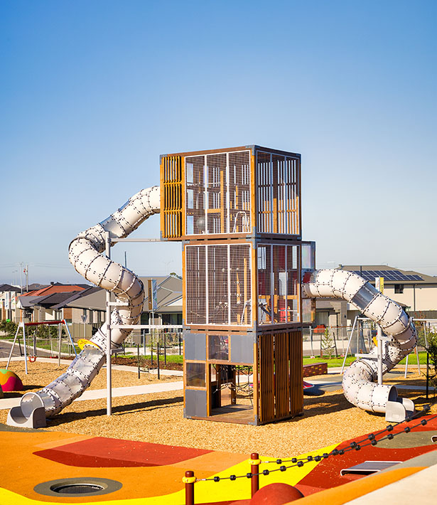 cubic playtower