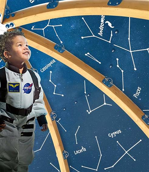Learning environment outdoors from Lappset - PlayPlanetarium