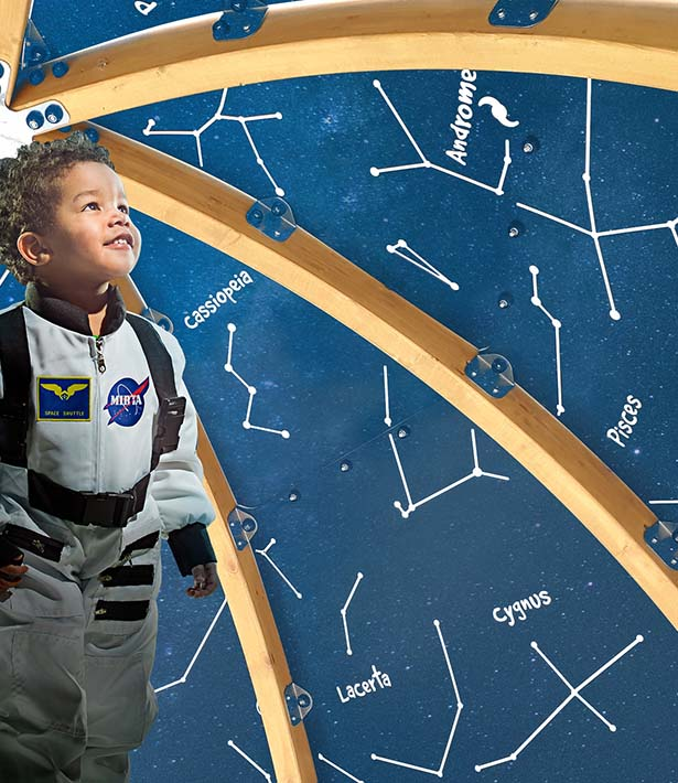 play planetarium playground equipment