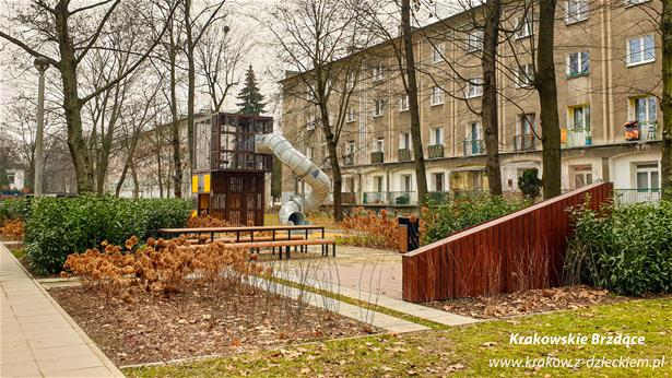 playground in krakow, poland by lappset and cityconcept