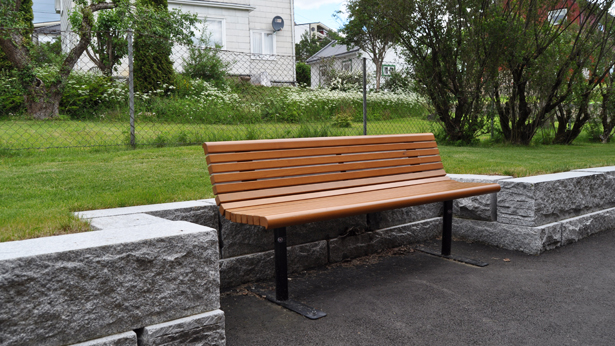 lappset yarden outdoor benches